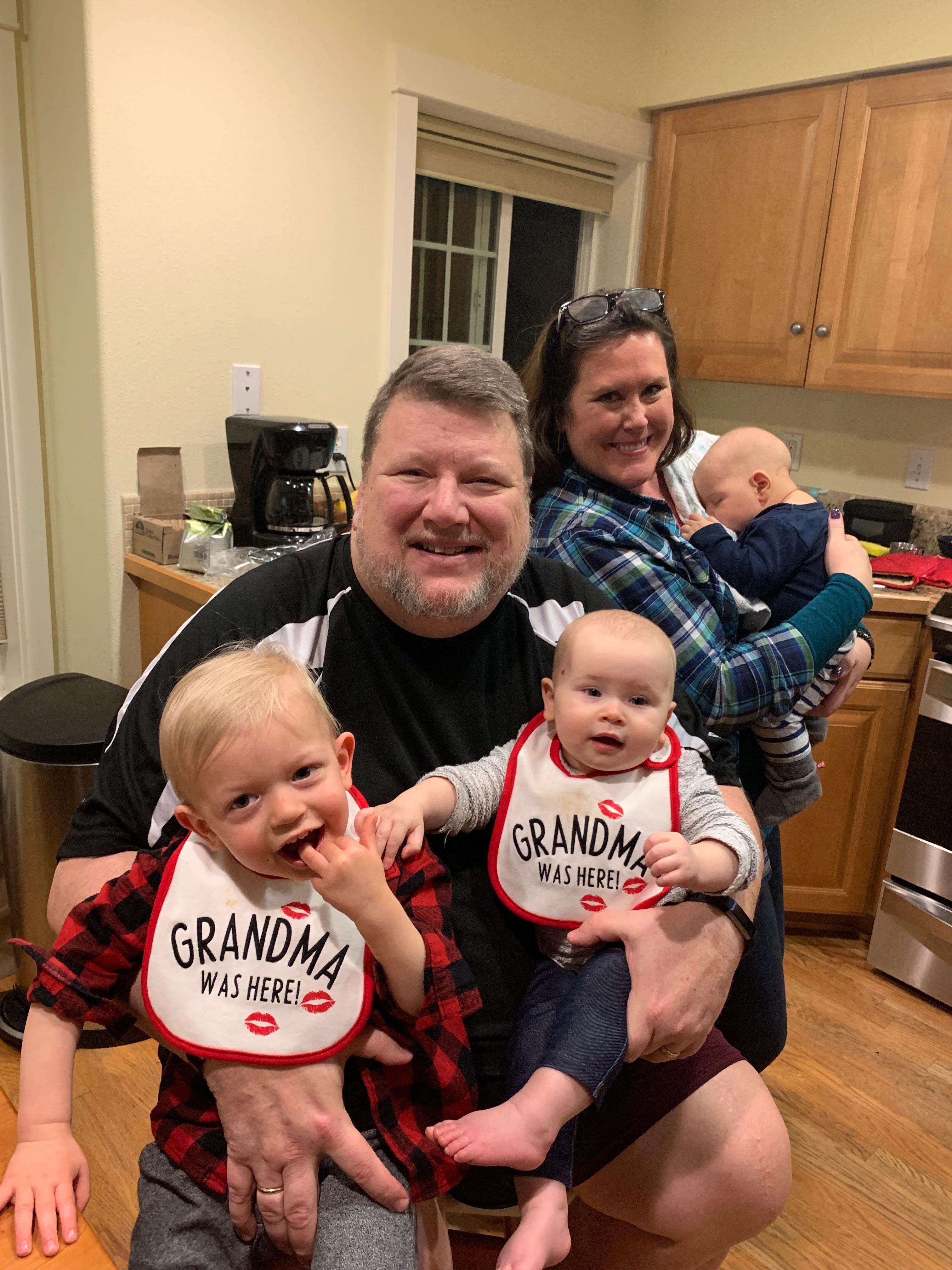 A,T & Grand Babies