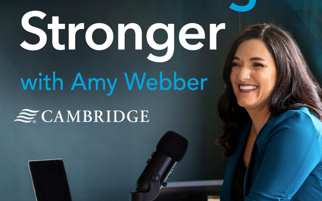 Listen to Kay on the Cambridge Stronger podcast